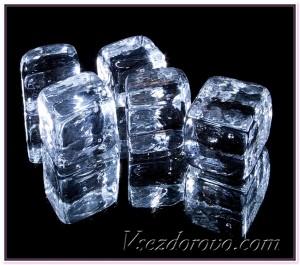 ледяные кубики фото