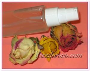 Тоник розово-медовый