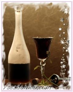 красное вино новый год