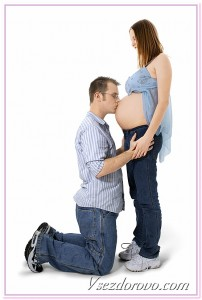 беременная семейная пара фото