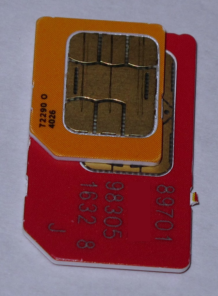 микро симка для iphone 4s