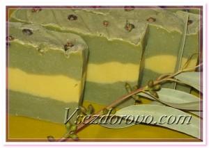 Мыло для проблемной кожи - с глиной и маслом ним