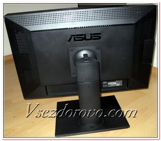 Asus PA246Q задняя панель