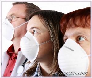 люди в белых масках