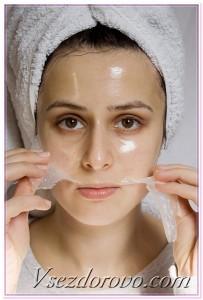 альгинатная маска-пленка
