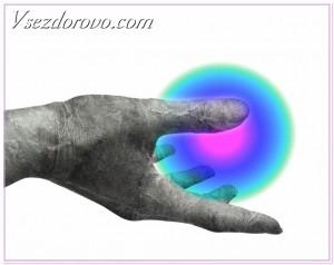 рука с шаром фото