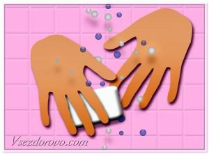 чистые руки против инфекции