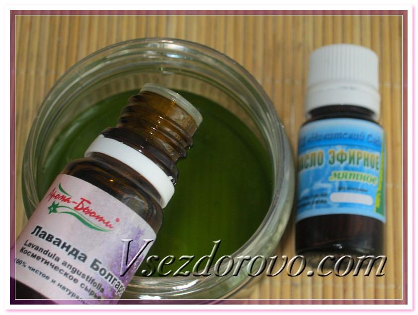 Добавляем эфирные масла обладающие репеллентным действием