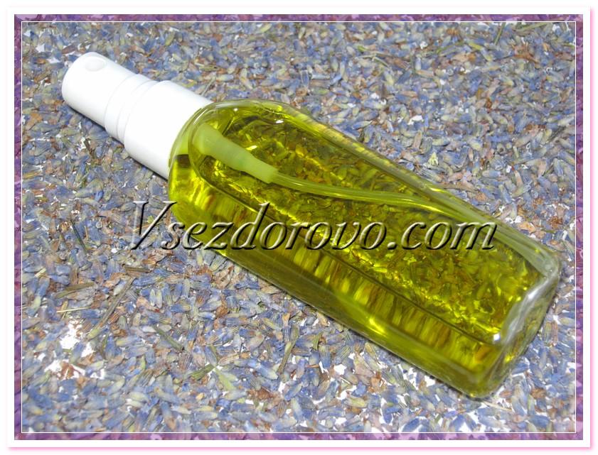 Спрей-репеллент с эфирным маслом лаванды