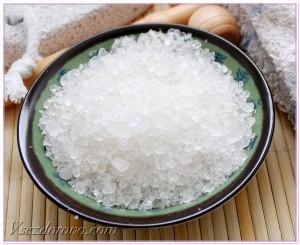 крупная соль для ванн фото