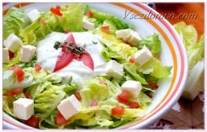 салат растительный фото