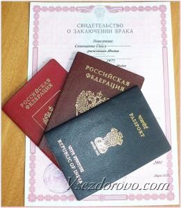 российский и индийский паспорт