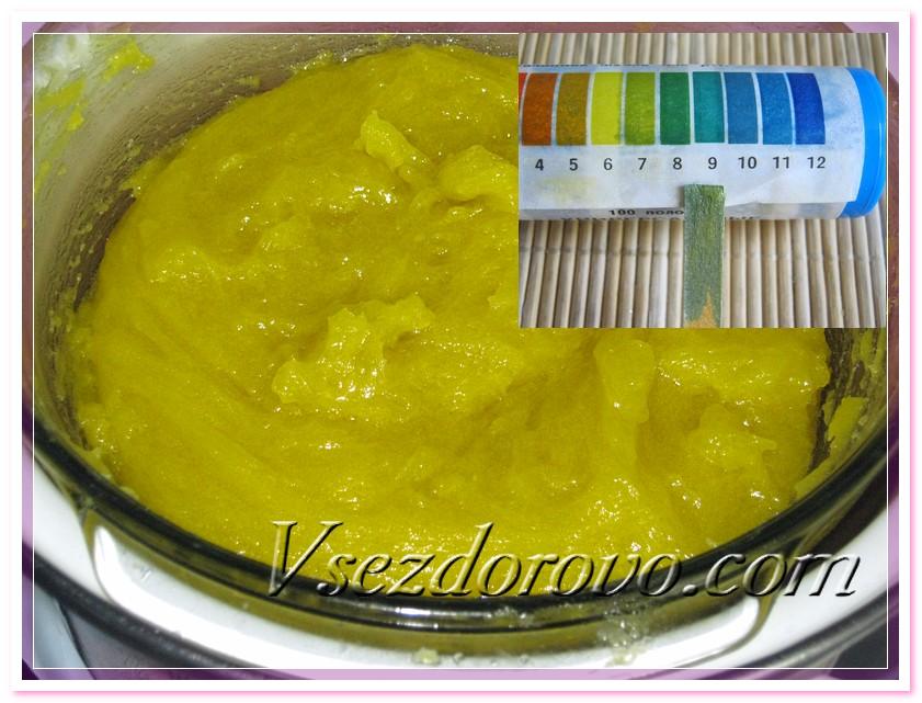 Можно убрать калийное пастообразное мыло дозревать на 2-3 недели
