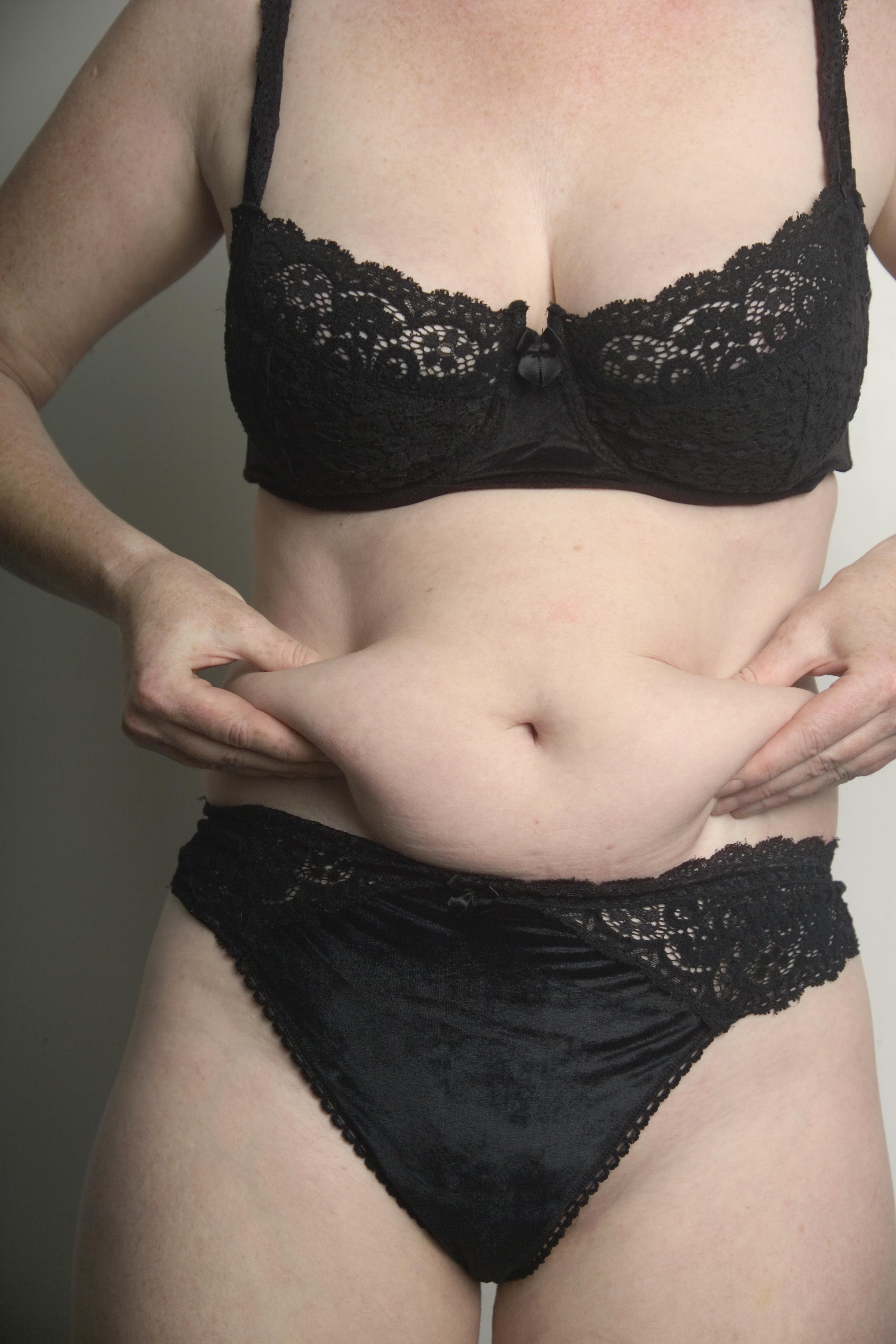 убрать жир на животе за месяц