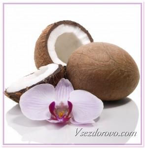 кокос и орхидея фото