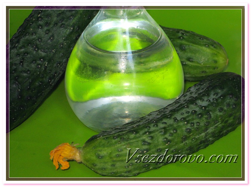 Гидролат огурца