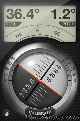Приложение Levels для iPhone