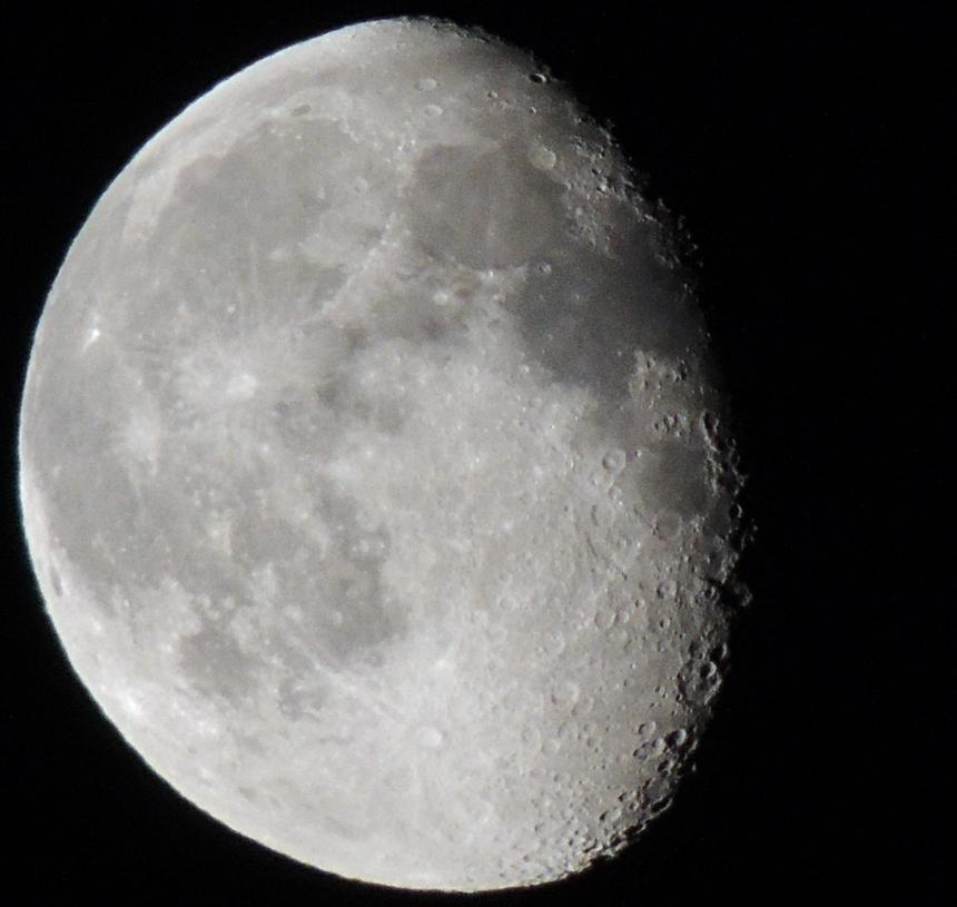 nikon coolpix p510 луна