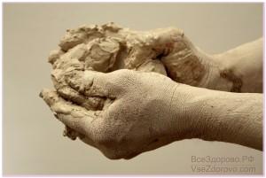 глина руки фото