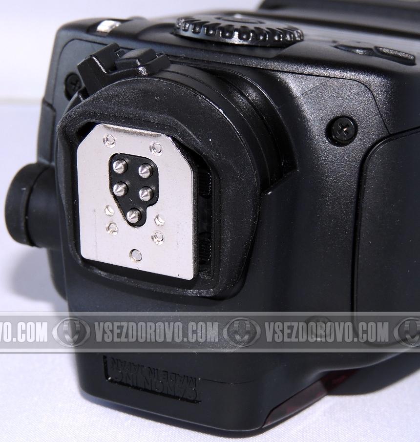 Инструкция к вспышке canon 580ex2 на русском