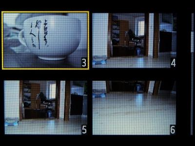 Просмотр миниатюр отснятых изображений. Часть 1.
