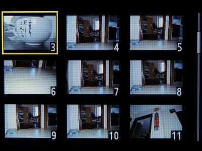 Просмотр миниатюр отснятых изображений. Часть 2.
