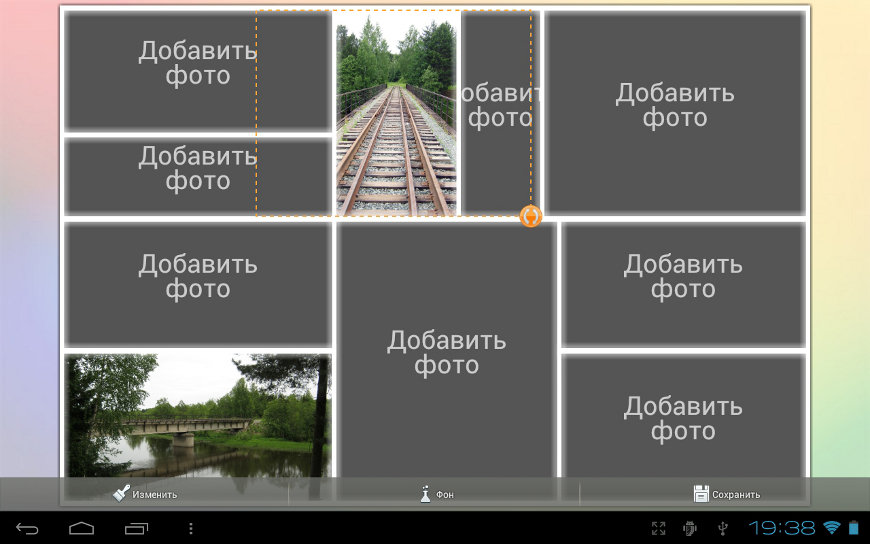 Коллажей из для андроид программу на создания фотографий