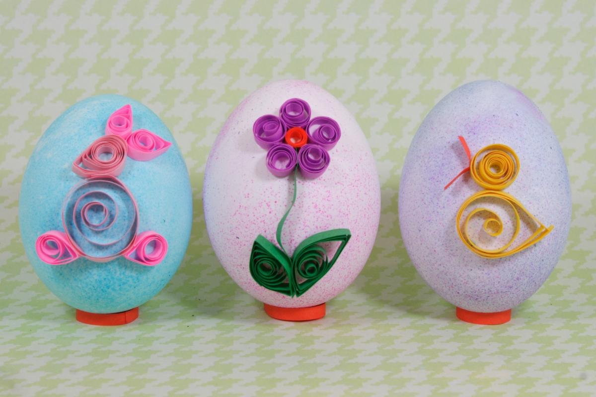 Украшение пасхальных яиц своими руками фото 901