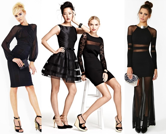 Как обновить черное платье фото