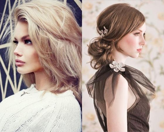 Прически на выпускной 2013 на волосы средней длинны.