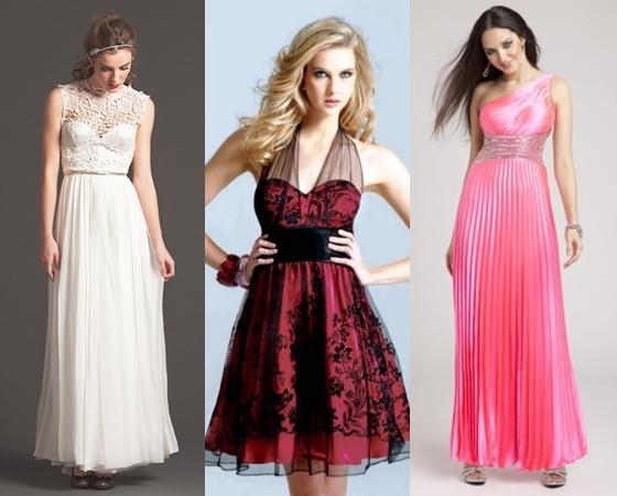 Самые модные платья на выпускной 2013, фото