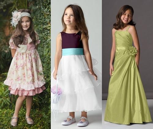 Детские платья для девочек на выпускной 2013, фото