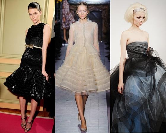 Пышные платья на выпускной 2013, фото