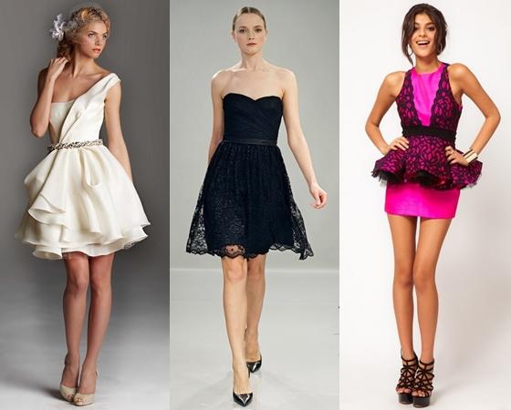 Короткие платья на выпускной вечер 2013, фото