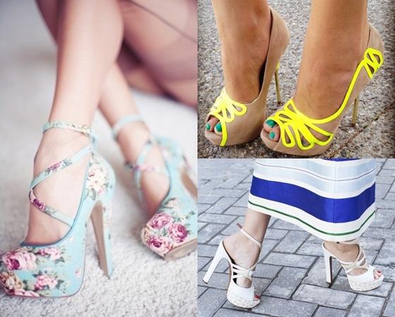 Красивые туфли на выпускной 2013, фото