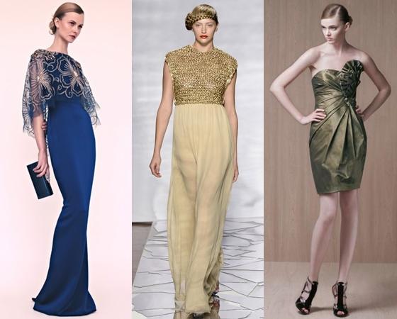 Вечерние платья 2013 для лета
