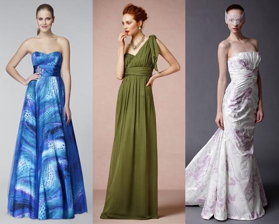 Вечерние платья на выпускной 2015 года