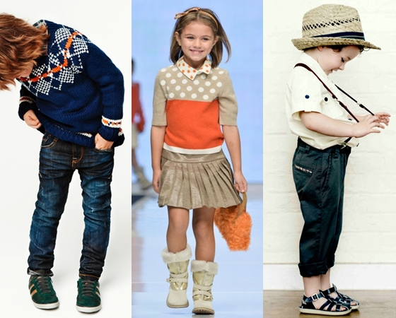 Самая модная детская одежда весна-лето 2013,