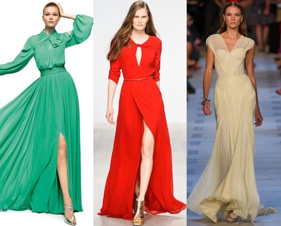 Модели платьев к выпускному вечеру