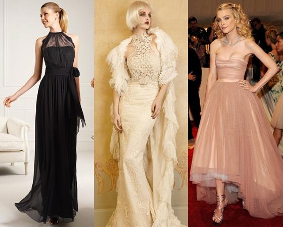 Длинные платья на выпускной вечер 2013 года, фото