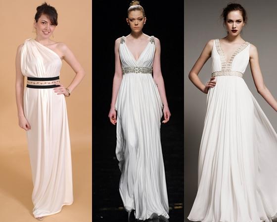 Платья в греческом стиле на выпускной 2013, фото