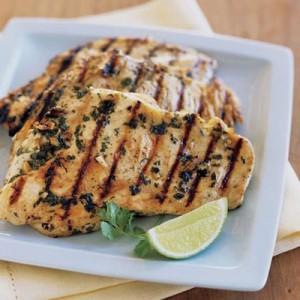 Курица-гриль в духовке — рецепт с фото