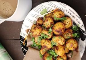 Картофель по-деревенски — рецепт с фото
