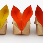 Как сделать кролика из бумаги в технике оригами