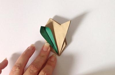 Как сделать кролика из бумаги оригами 24