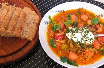 Немецкий суп айнтопф — рецепт с фото