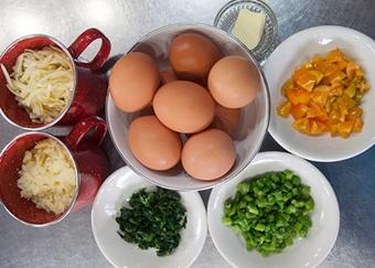 Омлет в духовке — рецепт с фото