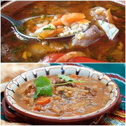 Суп харчо из свинины