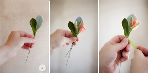 Как сделать бутоньерку для жениха своими руками