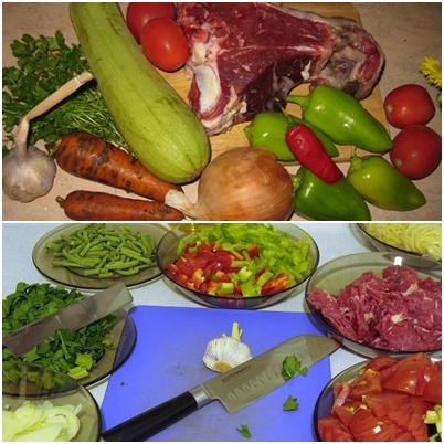 Лагман по-узбекски — рецепт с фото
